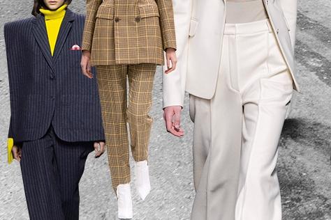 수트 드레싱을 향한 여자들의 패션 여정 다이어리.