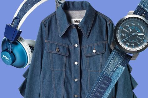 무채색 계절을 환하게 밝혀줄 뉴 시즌의 블루에 주목할 것::블루,데님,패션,아이템,쇼핑,엘르,elle.co.kr::