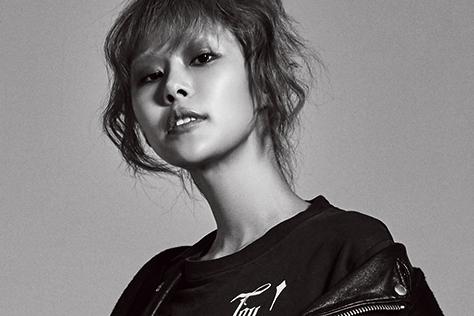 수많은 모델들 사이에서도 시선을 압도하는 모델 안아름의 강렬한 스타일링::안아름,모델,스타일링,하우투,엘르,elle.co.kr::