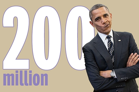 미국 백악관 전속사진작가가 지난 8년의 임기동안 담은 오바마 대통령의 사진은 무려 200만장이다::오바마,대통령,사진,넘버스,엘르,elle.co.kr::