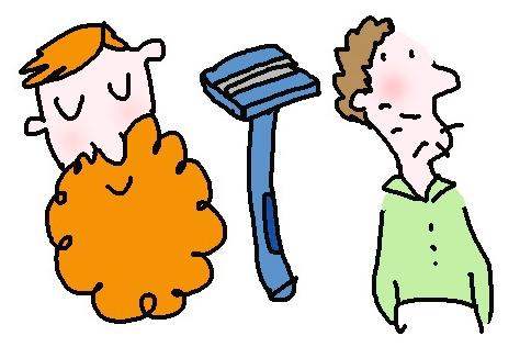수염을 기르는 남자들의 속사정::수염, 남자, 턱수염, 유행, 패션, 힙스터, 턱수염 기르는 법, 턱수염 다듬는 법, 크리스마스, 산타할아버지, 만화, 일러스트, 솔데드, 엘르, elle.co.kr::