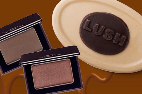 다가오는 발렌타인데이. 초콜릿도 좋지만 초콜릿을 닮은 뷰티 제품은 어떨까?::초콜릿, 발렌타인, 발렌타인데이, VDL, 더바디샵, 러쉬, 스킨푸드, 뷰티, 화장품, 엘르, elle.co.kr::