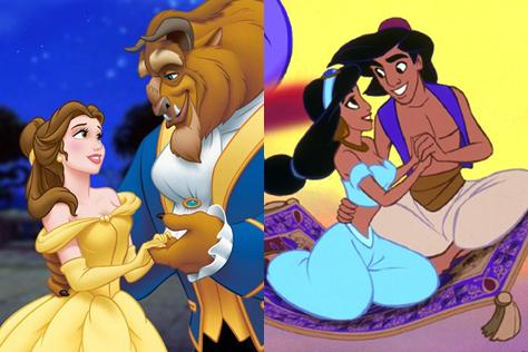 <겨울왕국> 그 이전, 1990년대를 화려하게 장식했던 디즈니 애니메이션들. 달콤한 로맨스와 흥미진진한 모험담 위로 울려 퍼지던 그 노래들이 아직도 귓가에 생생하다. 영화 <미녀와 야수> 개봉을 앞두고 되짚어본 디즈니 O.S.T 명곡들.::디즈니, Disney, 미녀와야수, 인어공주, 알라딘, 뮬란, 엠마 왓슨, 공주, princess, O.S.T, movie. 엘르, elle, elle.co.kr::
