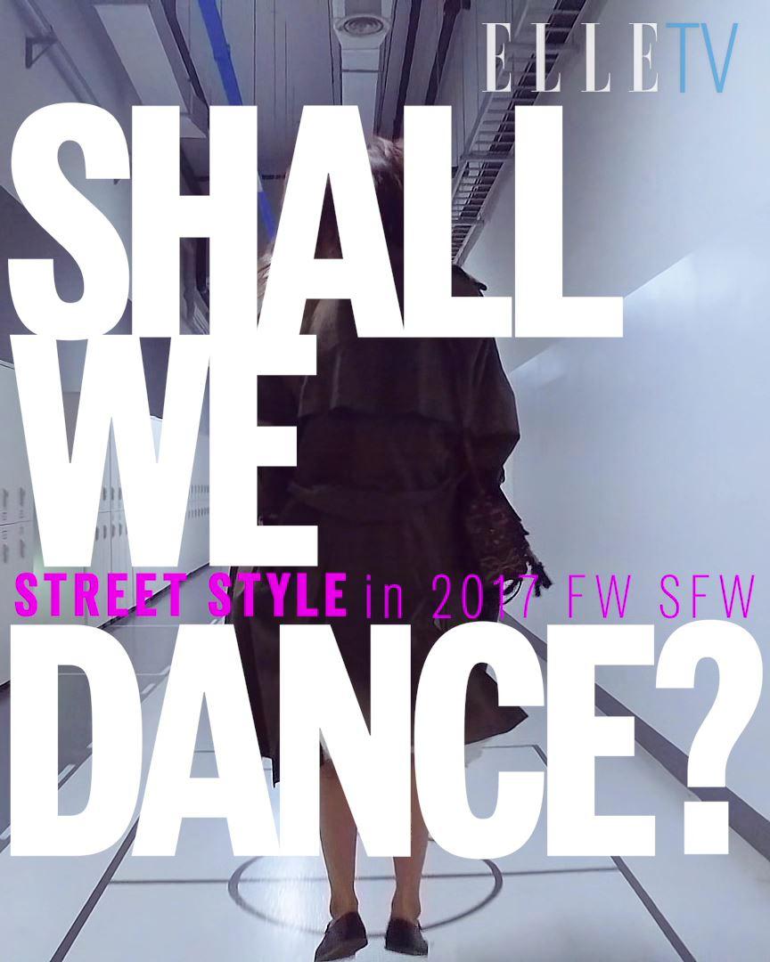 패션위크에서 벌어진 모델들의 때아닌 댄스타임!