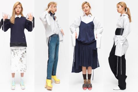 화이트 셔츠 일곱 가지 연출 법. ::셔츠, 화이트 셔츠, 스트라이프 셔츠, 스타일링, 데일리룩, OOTD, 엘르, elle.co.kr::