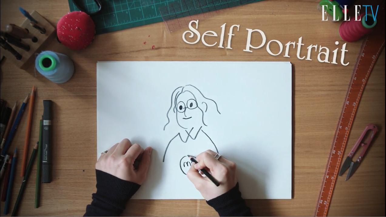 '악몽'을 주제로 2017 F/W 컬렉션을 선보인 디자이너 김민주가 그림으로 전하는 미니 토크.