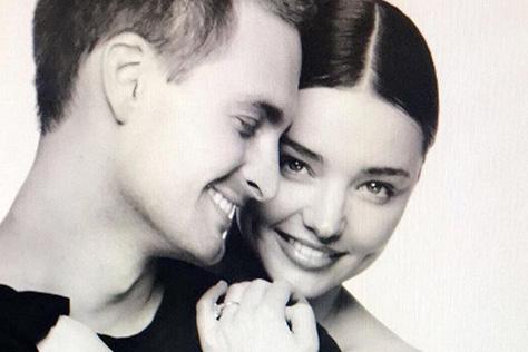 미란다 커와 20대 재벌 에반 스피겔의 결혼식은 생각보다 소박했다::미란다커, 에반스피겔, 웨딩, 럽스타그램,미라다커결혼,재혼,엘르,elle.co.kr::