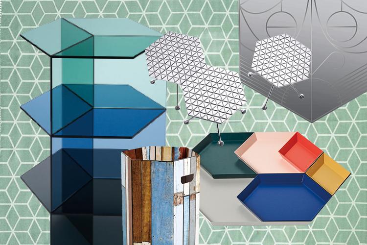 육각형에서 영감을 얻은 인테리어 아이템들이 주목받고 있다.::육각형,육각 무늬,아이템, 인스피레이션, 비트라,데코,elle.co.kr,엘르::