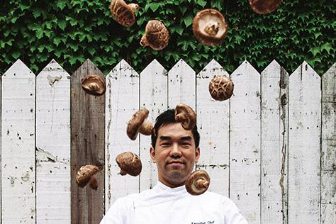 한국의 창의적인 셰프들이 참여한 스페셜 프로젝트 '크루그X버섯'::크루그,샴페인,버섯,셰프,프로젝트,엘르,elle.co.kr::