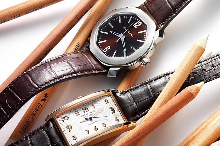 벌써 가을, 가을엔 손목도 갈색으로 갈아입는다::워치,가죽,시계,손목시계,가죽시계,브라운,초콜릿,액세서리,패션,엘르,elle.co.kr::
