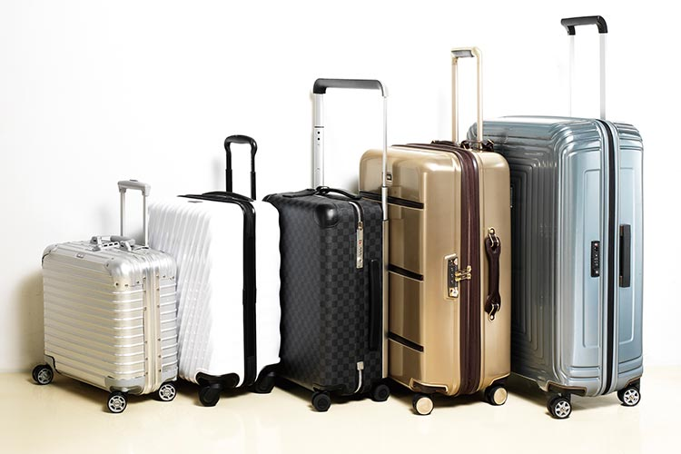 행복한 허니문을 위한 견고하고 모던한 트롤리 다섯 가지::캐리어,여행가방,가방,기내용,허니문,트롤리,모던,엘르 브라이드,엘르,elle.co.kr::