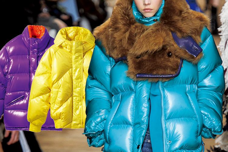 산뜻한 월동 준비를 위한 과감한 선택, 달콤한 캐디 컬러에 빠진 다운 재킷::다운재킷,다운,패딩,거위털,구스다운,덕다운,재킷,점퍼,패션,트렌드,엘르,elle.co.kr::