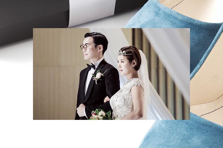 우리가 꿈꾸는 웨딩, 둘만의 이야기가 있는 특별한 결혼식을 한 사람들::파란색인 어떤 것, 파란구두, 주례없는결혼식, 웨딩, 결혼, 결혼식, 특별한결혼, 그날의결혼식, wedding, 엘르, elle.co.kr::