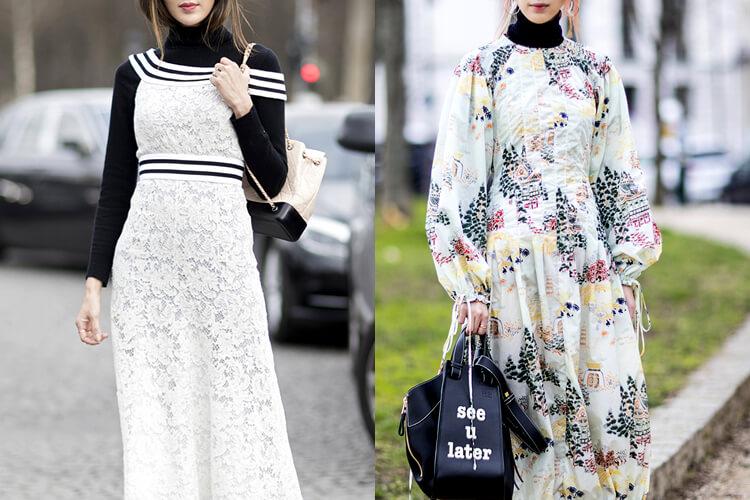 아우터 안에 입기 좋은 롱 원피스 스트리트 스타일::겨울, 원피스, 드레스, 데일리룩, 패션, 스타일, 롱원피스, 부츠, 코트, 터틀넥::
