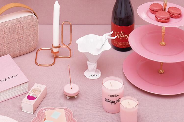 단 둘이 보낼 특별한 날, 로맨틱한 분위기를 고조시킬 분홍빛 아이템::핑크,분홍색,컬러아이템,가젯,키친,파티,엘르,elle.co.kr::