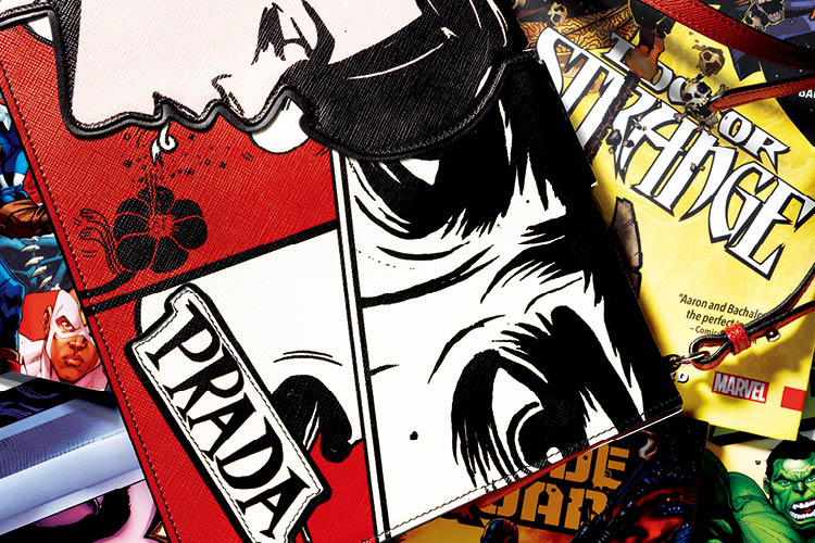 여성에 의한, 여성을 위한 새로운 만화 패션 판타지 ::프라다, 만화,  타르페밀스, 만화책, 하이패션, 마블시리즈, 마블, 미우치아프라다, 코믹, 엘르, elle.co.kr::