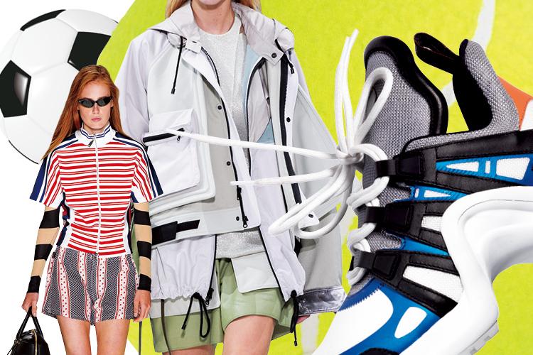 레트로 열풍으로 한 단계 업그레이드된 하이패션 스포츠::스포츠룩,운동복,스포츠,하이패션,레트로,트렌드,패션,엘르,elle.co.kr::