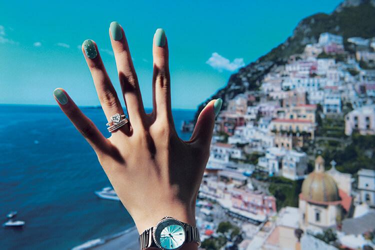 전 세계 가장 로맨틱한 곳에서 아름다운 하이 주얼리로 받는 프러포즈::화보,하이주얼리,주얼리,액세서리,프로포즈,브라이드,엘르.elle.co.kr::