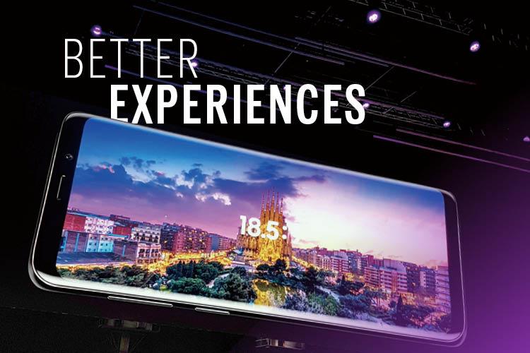 바르셀로나에서 조우한 갤럭시 S9의 크리에이티브 ::갤럭시, 갤럭시S9, 바르셀로나, 이모지, 모바일박람회, 엘르, elle.co.kr::