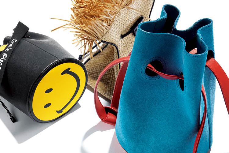 버킷 백이 여자들의 마음을 끌어당긴다 ::복주머니, 버킷백, BUCKET, bag, 엘르, elle.co.kr::