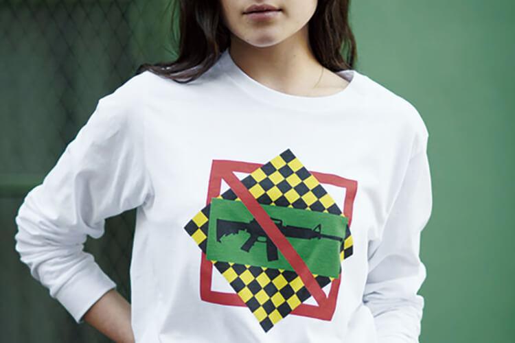 단순한 티셔츠가 아니다. 화이트 티셔츠에 담긴 메시지::캠페인,프로엔자스쿨러,총기규제,Everytown,엘르,elle.co.kr::