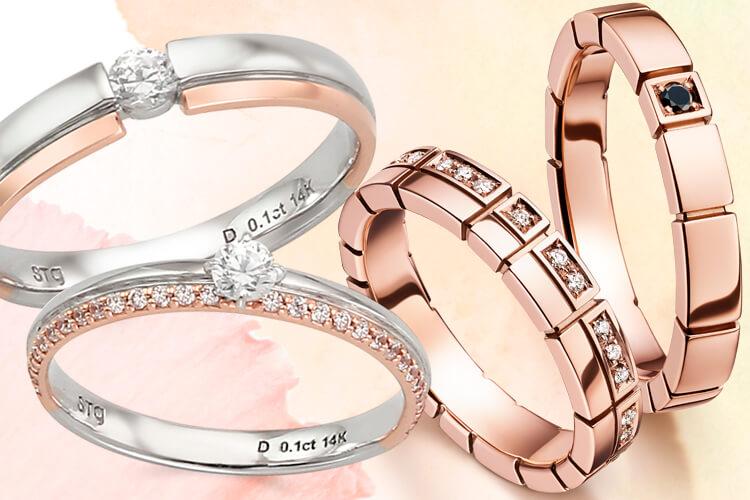 결혼과 약혼을 한 번에 해결할 수 있는 합리적인 반지 7::결혼, 약혼, 커플, 반지, 링, 웨딩, 추천, 패션, 스타일, 엘르, elle.co.kr::