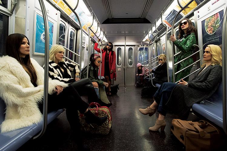 두근두근, 멋진 언니들의 독무대가 펼쳐진다. 영화 속에서::오션스8,아이필프리티,영화,여성,무비,엘르,elle.co.kr::