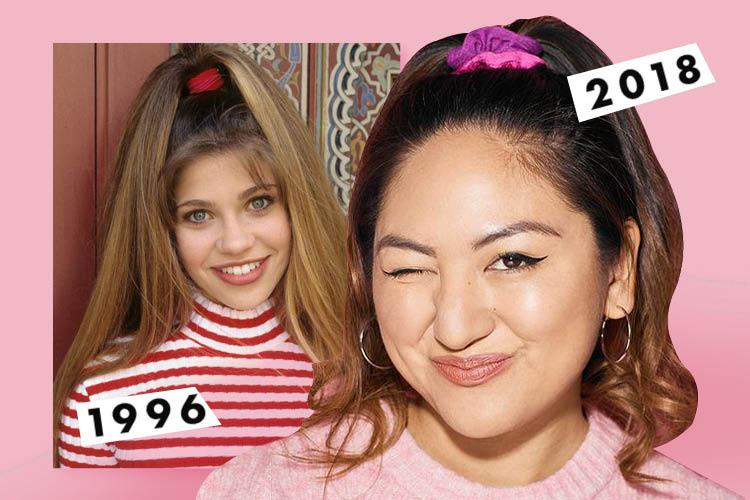 진짜로 일주일 동안 90년대 헤어 액세서리를 착용해보았다 ::헤어스타일, 헤어핀, 머리, 끈, 곱창밴드, 유행, 엘르, elle.co.kr::