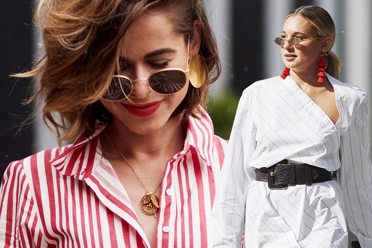 롱 셔츠를 색다르게 즐기는 6가지 방법::셔츠, 드레스, 여름, 원피스, 스타일링, 패션, 스타일,셔츠원피스,셔츠드레스,엘르,elle.co.kr::