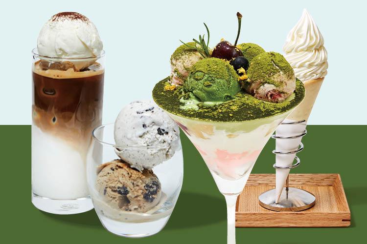 뜨거운 햇살도 상관없다. 예쁘고 달콤한 아이스크림과 함께라면 ::르쉬드, 파르페, 아와, 나인티원, 디저트, 아이스크림, 모나카, 쿠크봉, 연남방앗간, 카페, 엘르, elle.co.kr::