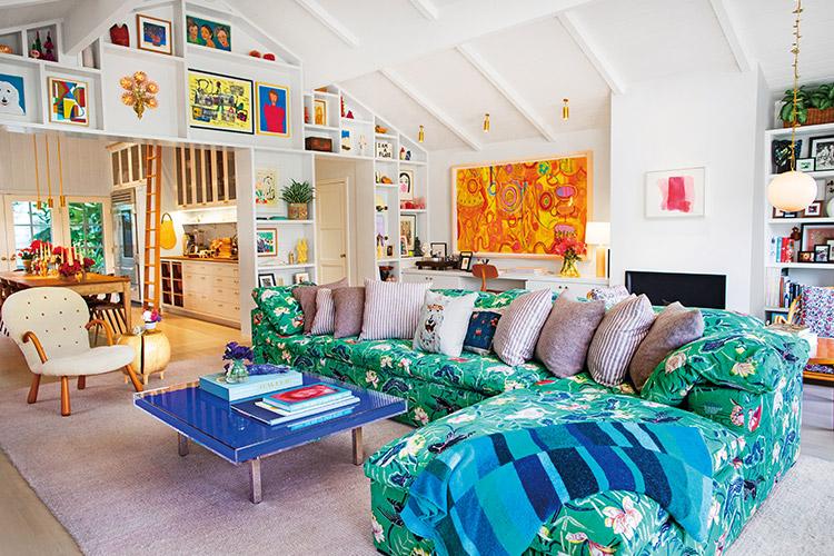 주얼리 디자이너 아이린 뉴워스가 새 단장한 LA 집에 친구를 초대했다::아이린뉴워스,주얼리디자이너,LA,집,인테리어,하우스,집꾸미기,엘르,elle.co.kr::