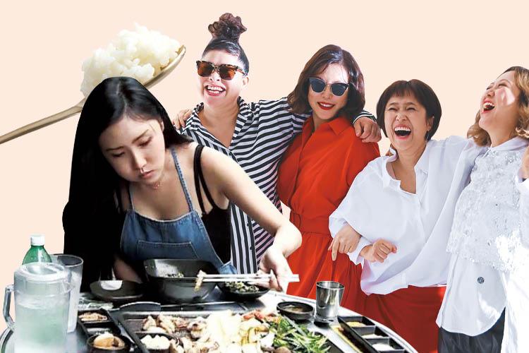 과시와 경쟁, 평가가 따라오던 남성적 시선의 '먹방'을 지나 막 도래한 여자들의 행복한 먹방! ::먹방, 힐링, 밥블레스유, 이영자, 음식, 화사, 곱창, 마마무, 나혼자산다, 엘르, elle.co.kr::