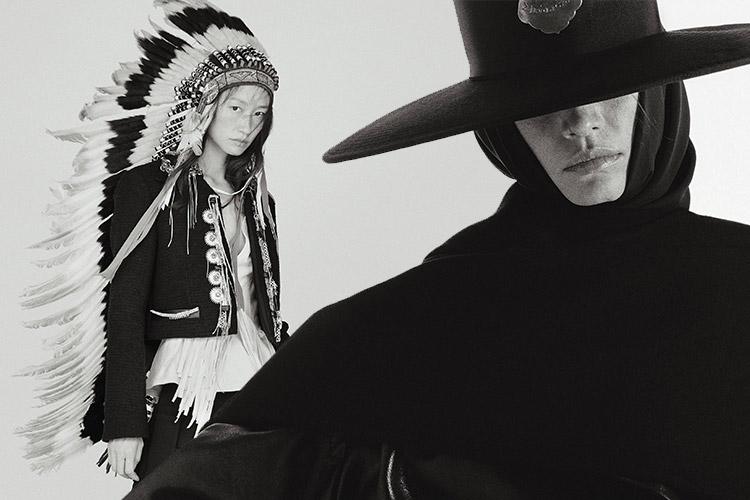 카우보이 모자를 푹 눌러쓰고::카우보이,서부,보안관,아메리카,미국,패션,패션화보,엘르화보,엘르,elle.co.kr::