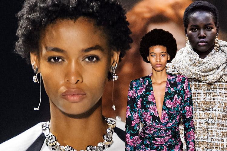 흑인 모델들이 하이패션계를 접수했다::흑인,모델,흑인모델,인종,패션,런웨이,엘르,elle.co.kr::