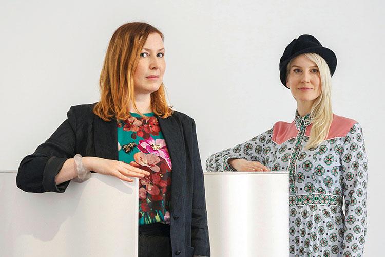 지금, 전세계가 집중하는 여성 디자이너를 만났다::디자이너,여성디자이너,FRONT,듀오,안나 린드그렌,소피아 라예르크비스트,인터뷰,엘르,elle.co.kr::