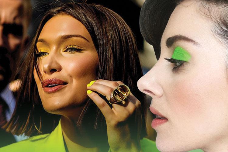 패션에 이어 뷰티에도 스타들의 초록빛 사랑은 계속된다::그린,네온,초록,녹색,그리너리,컬러,메이크업,뷰티,엘르,elle.co.kr::