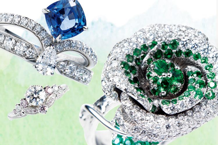 그녀들의 마음을 훔칠 매력적인 프로포즈 링 ::파인쥬얼리, 웨딩, 웨딩반지, 웨딩링, 다이아몬드, 커플링, 웨딩밴드, 엘르, elle.co.kr::