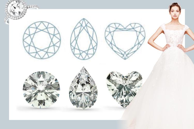 커팅에 따라 묘하게 달라지는 다이아몬드의 매력이야말로 영원하다::다이아몬드,다이아,커팅,보석,물방울다이아,프로포즈링,반지,웨딩링,결혼,결혼식,신부,웨딩,브라이드,엘르 브라이드,엘르,elle.co.kr::