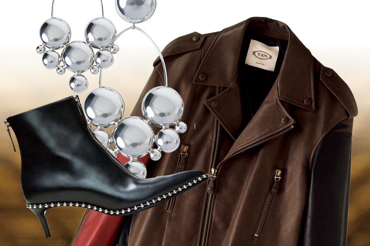 섹시와 터프, 그 사이에서 가을을 맞이하는 바이커 재킷 ::섹시, 라이더재킷, 가죽재킷, 가을, 패션, 터프, 바이커, 바이커재킷, 엘르, elle.co.kr::