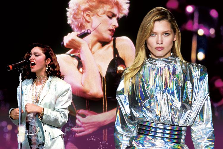 글램 룩이 빛나던 1980년대 속으로 ::글램룩, 80년대, 80's, 마돈나, 보디콘셔스, 파워숄더, 파워풀, 패션, 엘르, elle.co.kr::