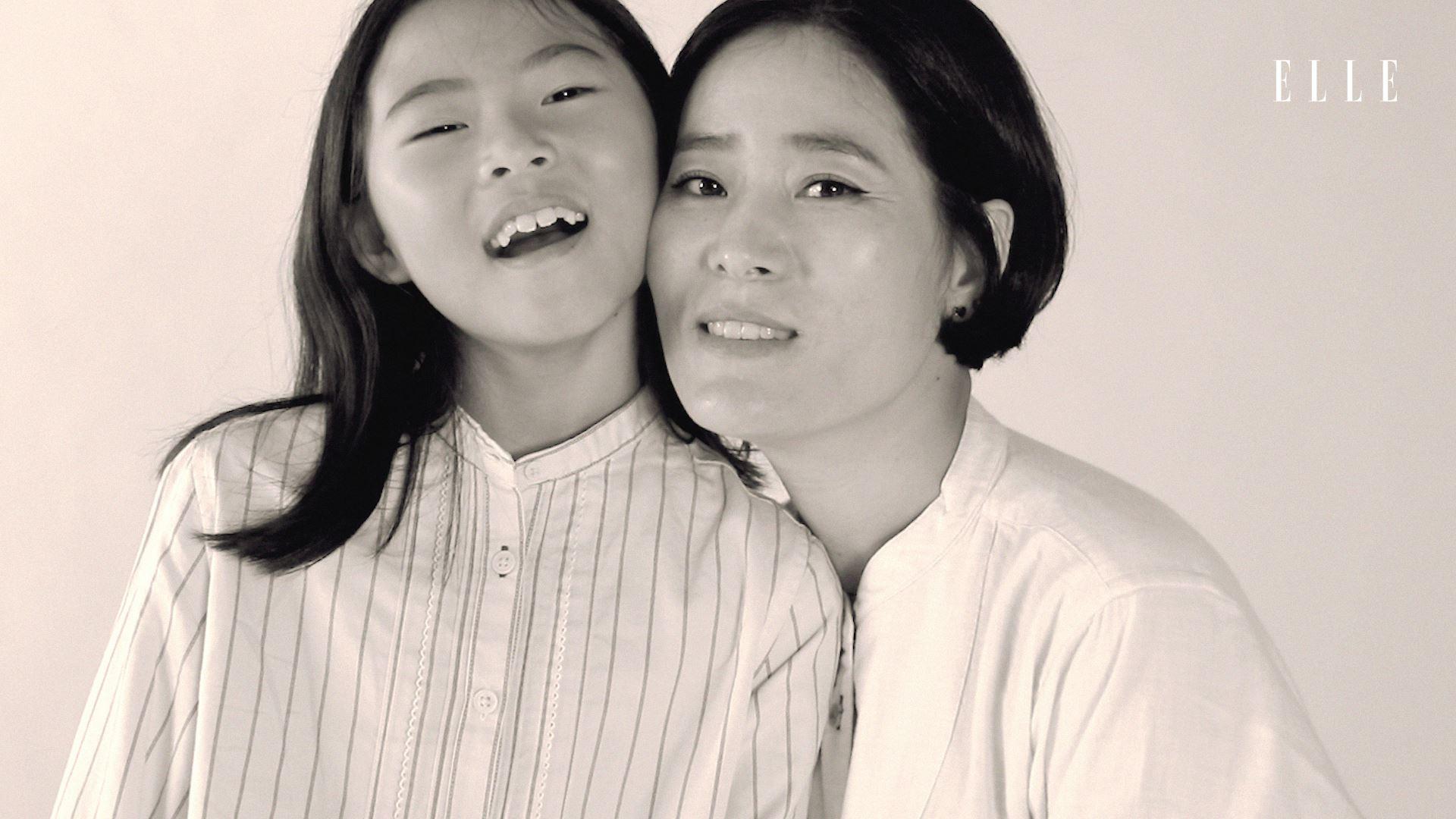 한 해 한 해 지날수록 친한 친구가 돼가는 엄마 김윤미와 딸 시우.