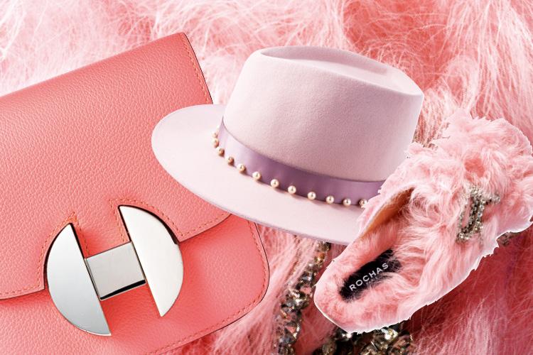 도회적이고 다채로운 이번 시즌 핑크 아이템 ::핑크, 핑크 아이템, 패션 아이템, pink, pink items, 엘르, elle.co.kr::