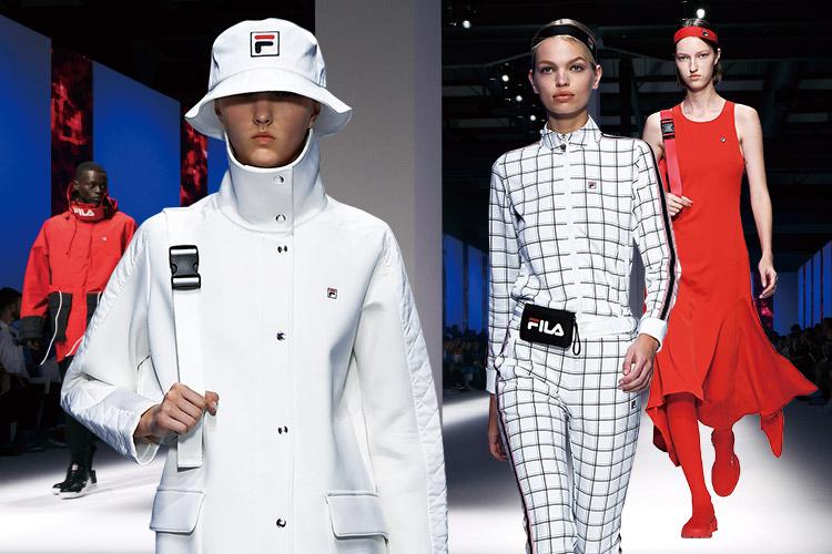 지난 2019 S/S 밀란 패션위크를 통해 첫 번째 데뷔 컬렉션을 치른 휠라의 강렬한 비전::휠라, FILA, 밀란 패션위크, 패션위크, 19SS, 스포츠웨어, 패션, 엘르, elle.co.kr::