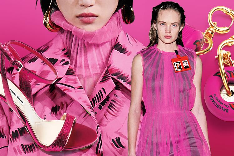 후쿠시아 향기를 머금은 핑크 룩의 매력적인 도발::핑크,핑크룩,분홍,후쿠시아,보랏빛 핑크,컬러,트렌드,패션,엘르,elle.co.kr::