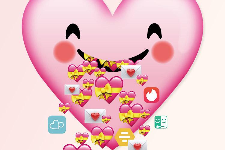연애를 하기 위한 보편적이고 간단한 방법은 데이팅 앱이다. 이건 스와이프로 만드는 낭만 혹은 그저 게임에 지나지 않을 수 있다::데이팅앱,어플,데이트,연애,틴더,페어즈,범블,아자르,만남,러브,엘르,elle.co.kr::