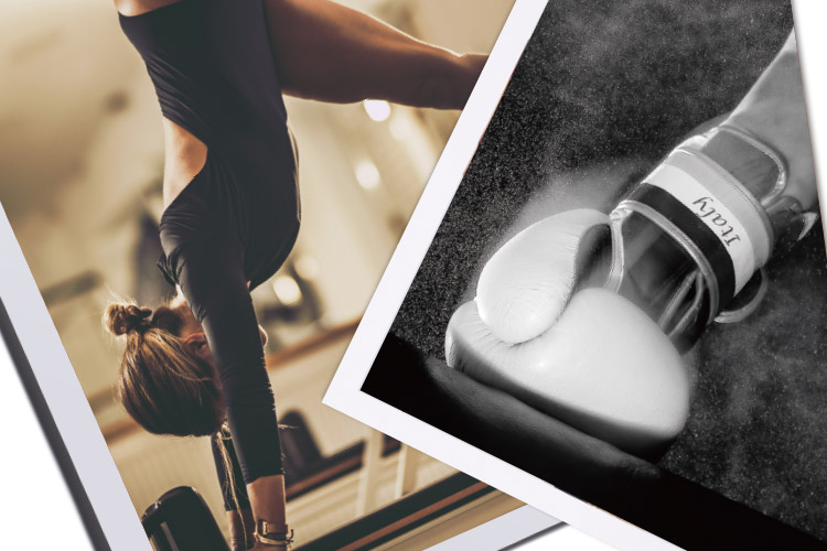 <엘르> 에디터가 두 개 이상의 운동을 결합한 하이브리드 운동을 체험했다.