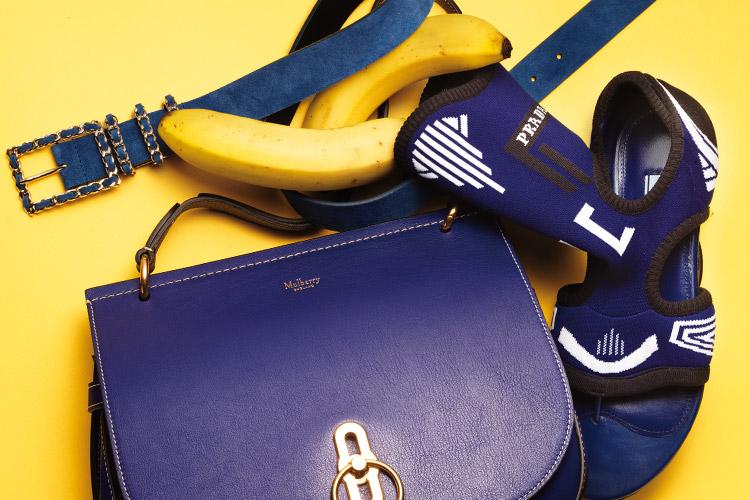 끝없이 펼쳐진 바다처럼, 깊고 짙은 블루 컬러의 매력 속으로::블루, 블루 아이템, 가방, 백, 컬러, 패션, 엘르, elle.co.kr::