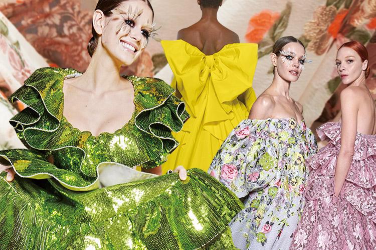 오트 쿠튀르 컬렉션만큼은 여전히 백인 모델의 비율이 크다. 하지만 발렌티노의 피에르 파올로 피치올리는 흑인과 동양인 모델의 비중을 늘렸다::발렌티노, 나오미 캠벨, 흑인 모델, 모델, 런웨이, 패션쇼, 패션, 엘르, elle.co.kr::
