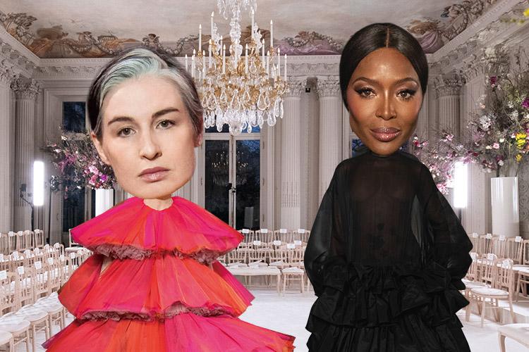 세월이 흘러도 진정한 아름다움은 변하지 않는다는 진리를 보여준 두 모델 언니들의 귀환::나오미 캠벨, 에린 오코너, 발렌티노, 스키아파렐리, 모델, 90년대, 패션, 엘르, elle.co.kr::