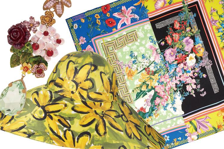 꽃잎 흩날리며 걷고 싶을 때, 보다 강렬하고 화려하게 거듭난 플라워 패턴의 대담한 유혹에 응답해 볼 것::플라워, 플라워패턴, 패턴, 봄, 봄옷, 스타일링, 패션, 엘르, elle.co.kr::